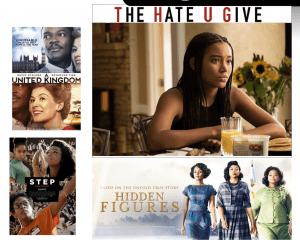 Black History Month film covers
